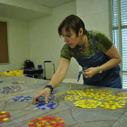 Carien Quiroga: Arts Integrated Mosaic Mural Residency