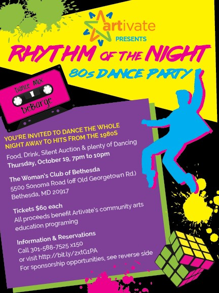 Rhythm Of The Night 80s Dance Party