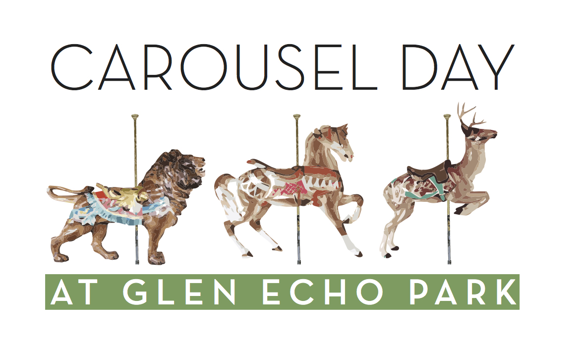 Carousel Day At Glen Echo Park Featuring Billy B. And Gerdan