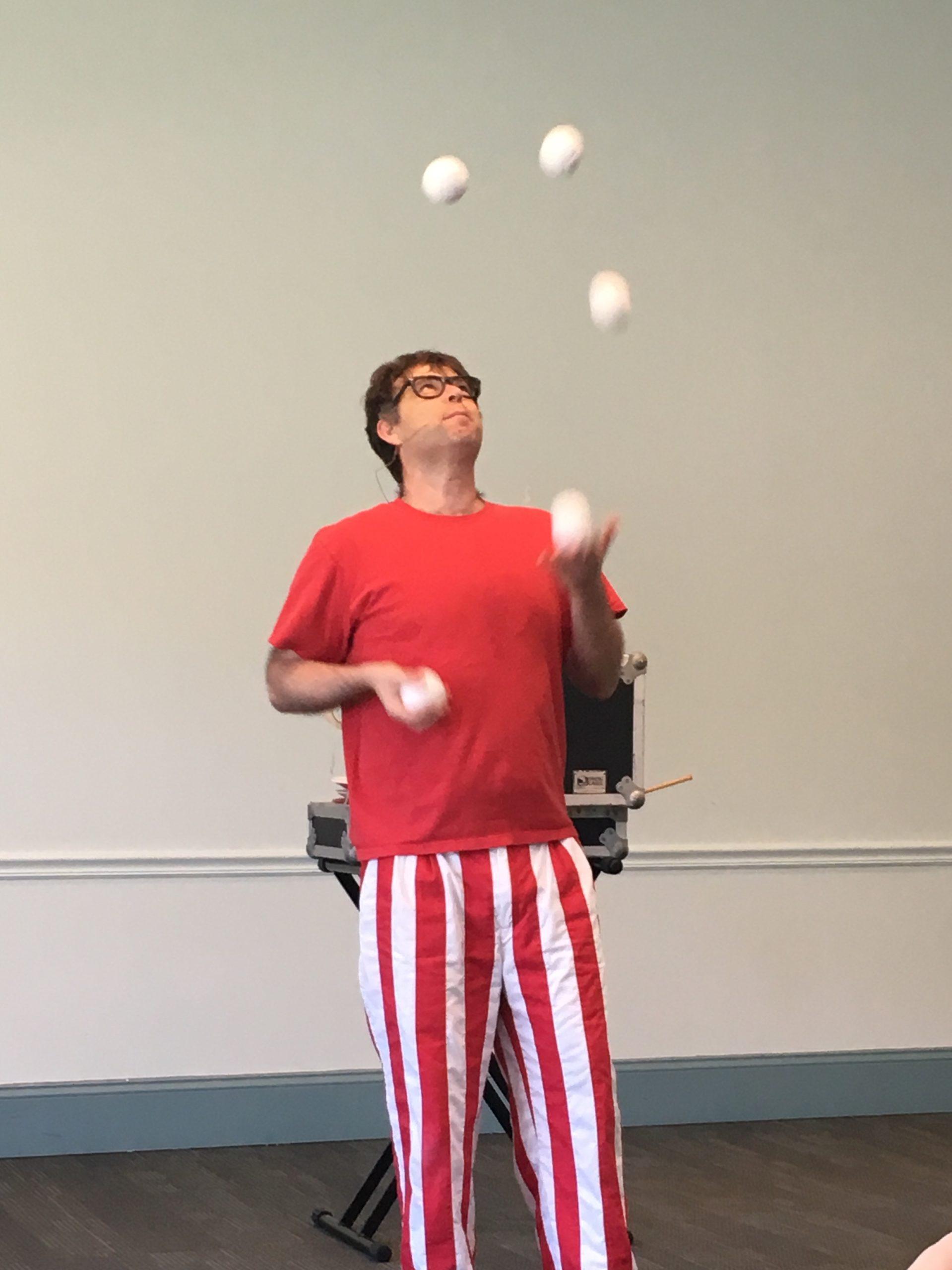 Flow Circus – Alexandria Library 4.2019 – Paul