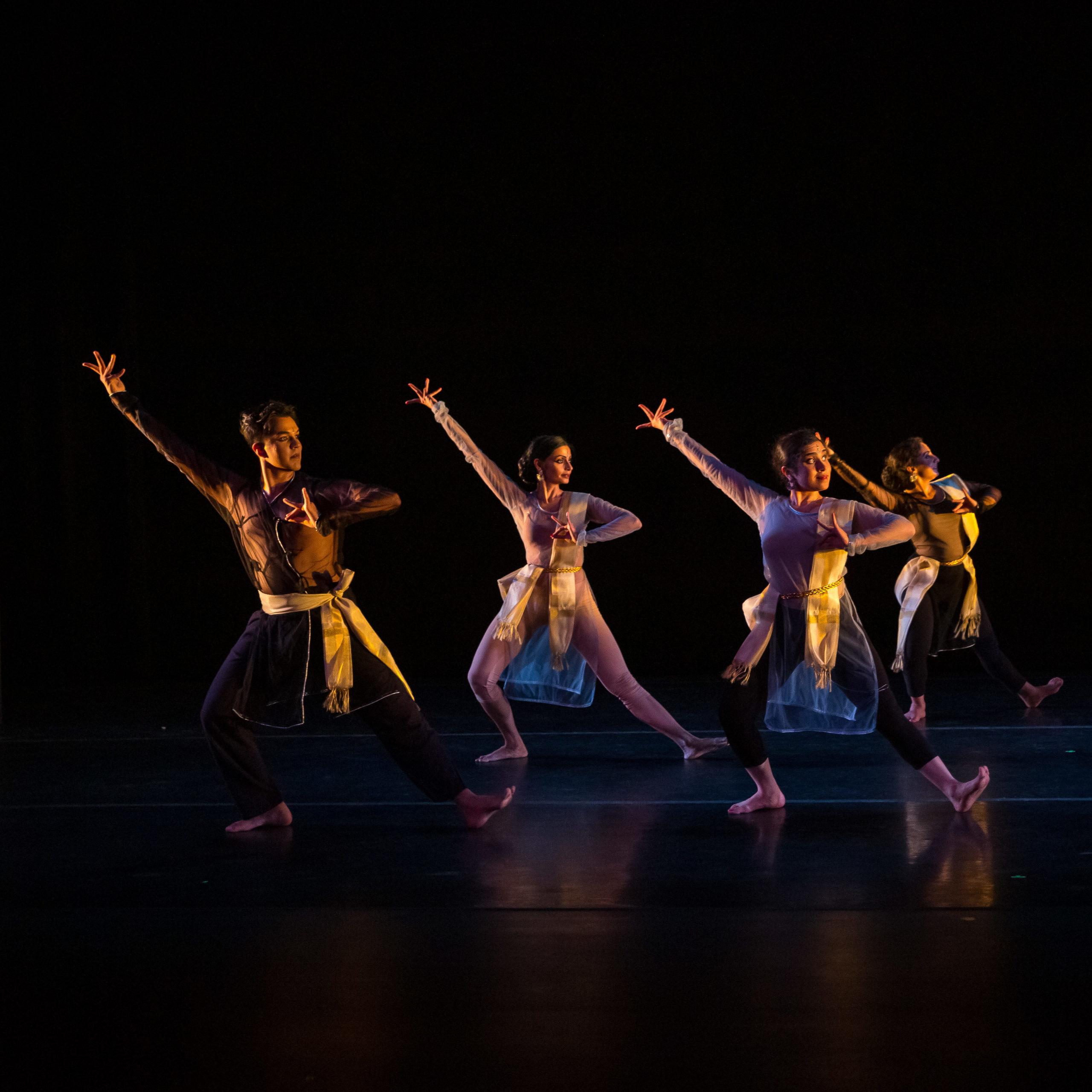 Prakriti Dance Fish Eyes Performance - Photo Credit: Siva Sottallu