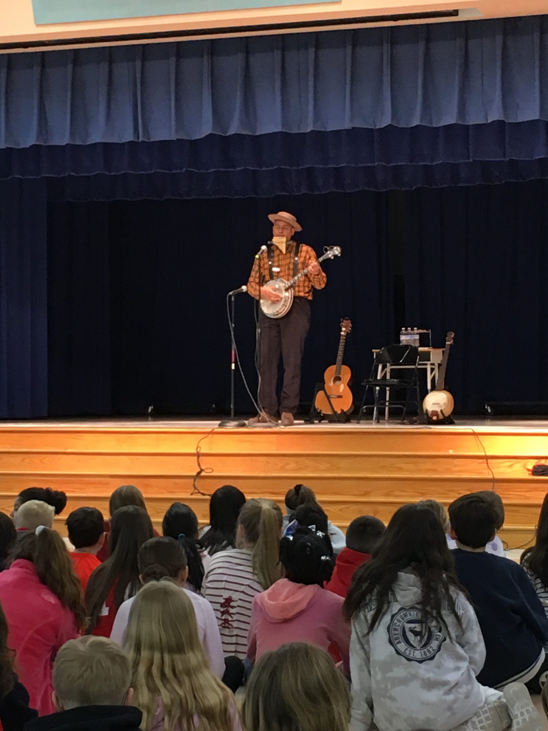 Dom F. At Bushy Park Elementary