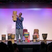 Kofi - Discovery Theater - drum