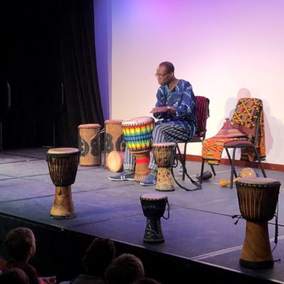 Anansegro Of Ghana: African Drum, Songs, Stories, And Games