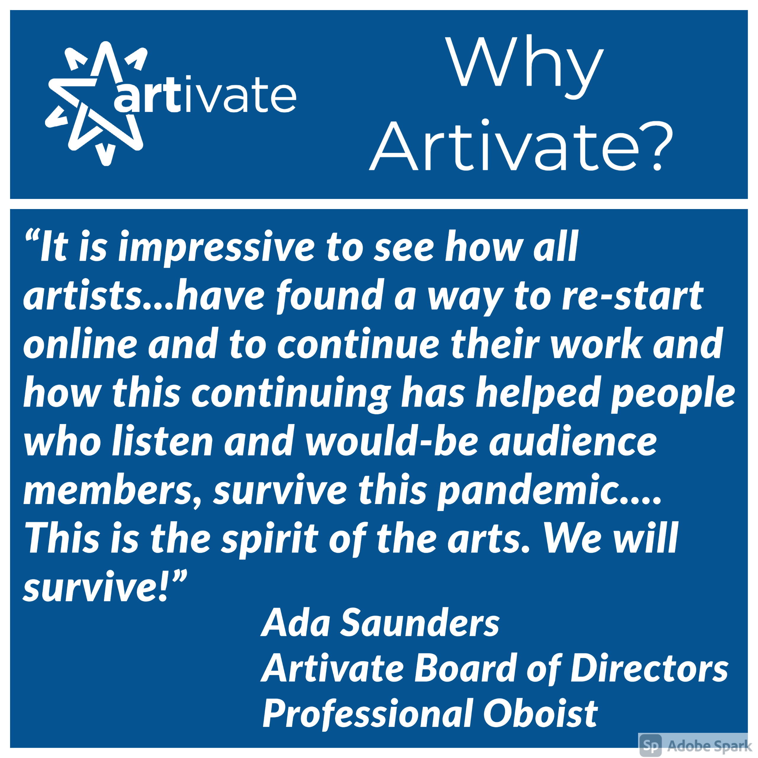 Why Artivate?