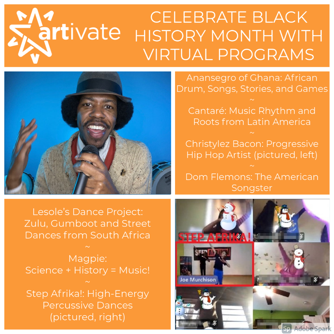 Celebrate Black History Month With Virtual Programs