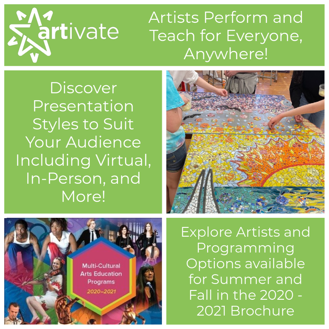 Artivate Artists Perform And Teach For Everyone – Anywhere!