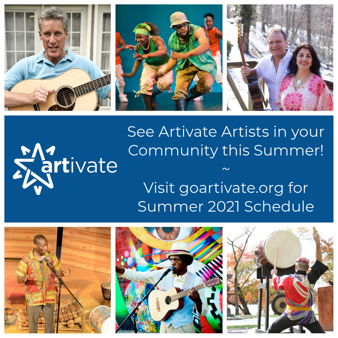 See Artivate Artists In Your Community This Summer!